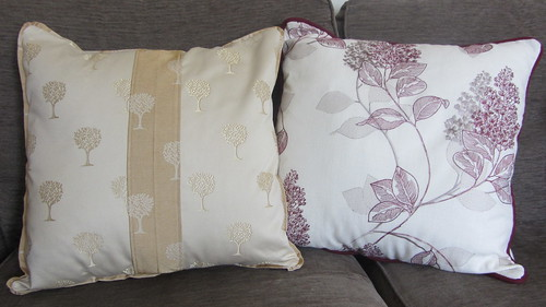 Finished envelope cushions