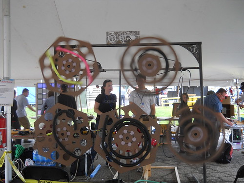 i3 Detroit's Whirly Tubulator for making music