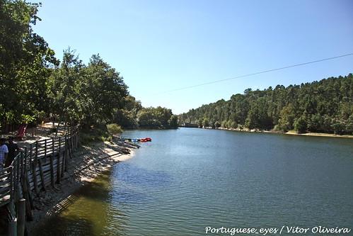 Praia Fluvial Casa do Rio - Fagilde - Portugal