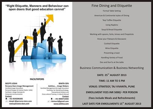 Fine Dining & Etiquette