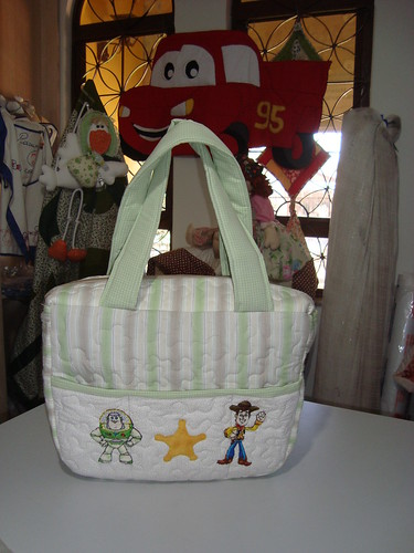 bolsa Toy Story, faz parte do quartinho toy story by Maringá Patchwork by Ruth Urbinati