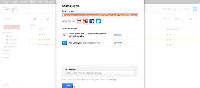 Google Drive as free CDN to your website by Anil Kumar Panigrahi - Screen 7