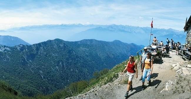 Pěší túra Monte Lema – Monte Tamaro