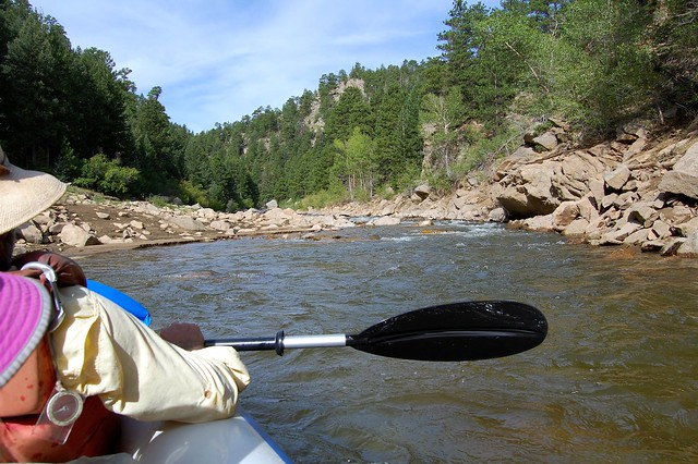 South Boulder Creek - Kayaking at Gross Reservoir, Osprey Point, CO