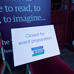 Closed for event preparation |