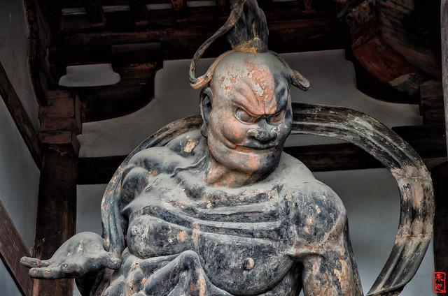 「金剛力士像−吽形」 法隆寺 - 奈良
