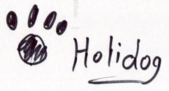 Holidog's signature