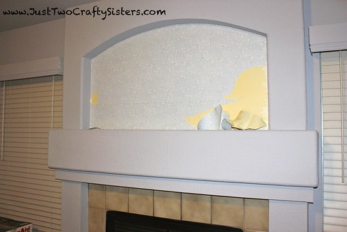 Remove wall paper with fabric softener and water
