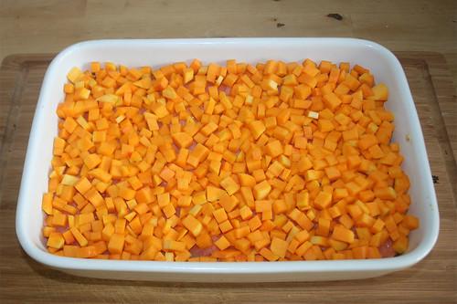 38 - Kürbiswürfel hinzufügen / Add pumpkin dices