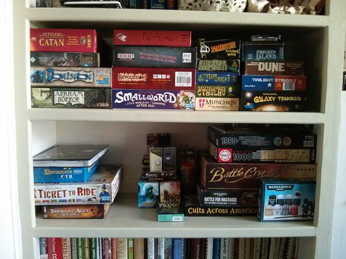 New game shelf!