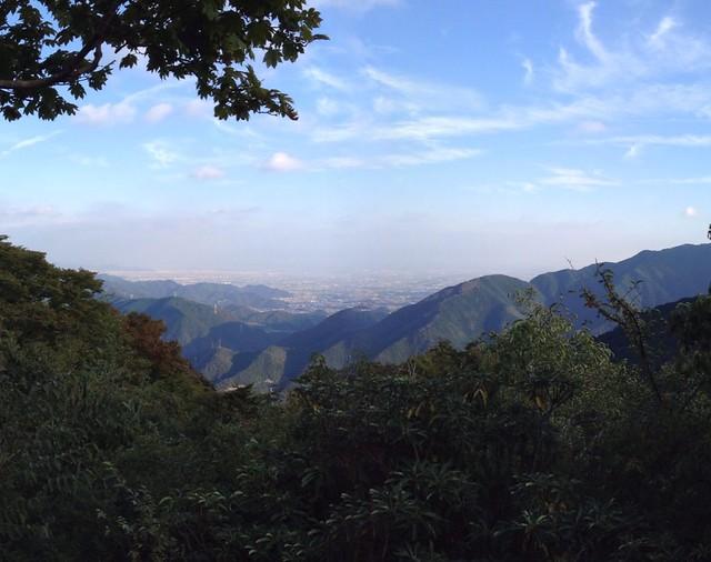 飯盛山 山頂からの展望