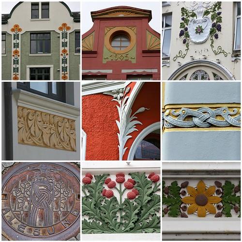 Ålesund Details Mosaic