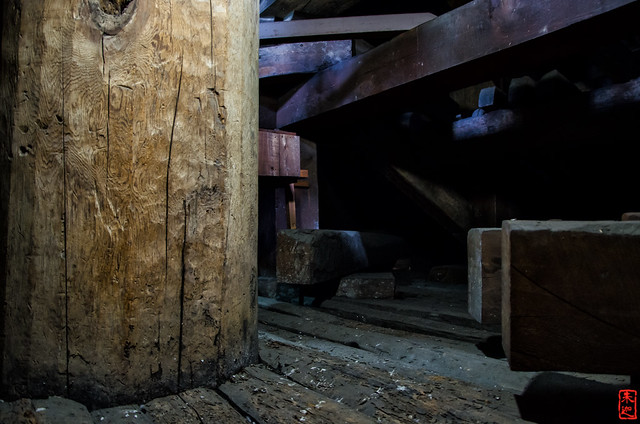 「八坂の塔御柱」 法観寺 - 京都