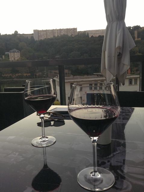 Wine before dinner