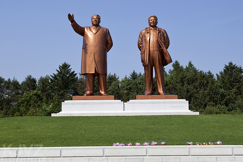 travel statue great north korea leaders dprk