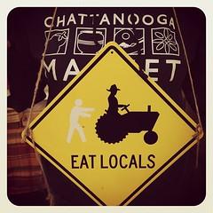 Locals Taste Better #hauntedmarket