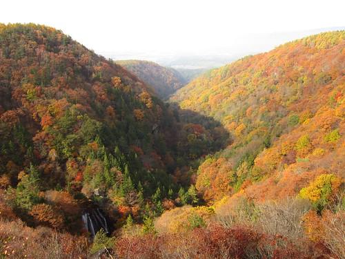 横谷渓谷と王滝 2013年11月1日9:31 by Poran111