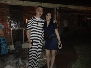 Prisoner Andrew and Police Man Jess