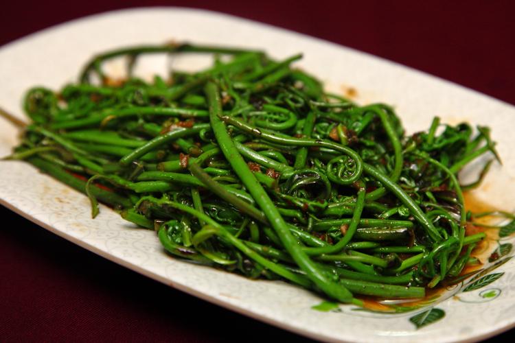 Top Spot Seafood Midin-Sambal-Belacan