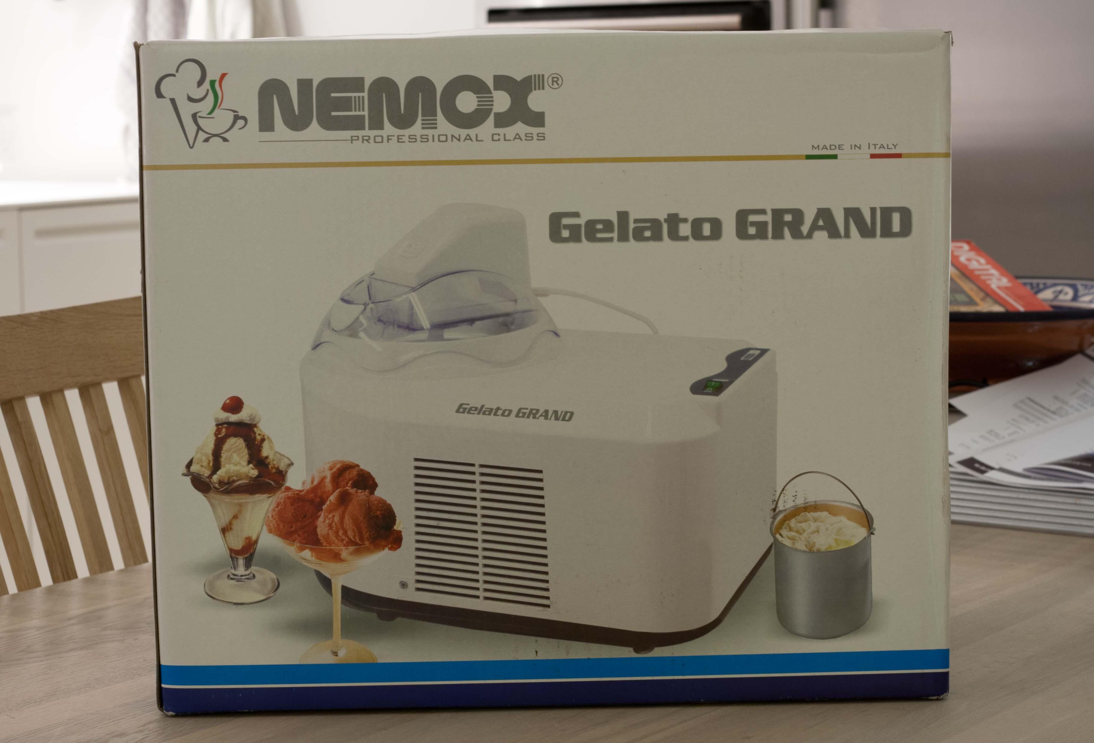 Test af Nemox Gelato Grand ismaskine med kompressor