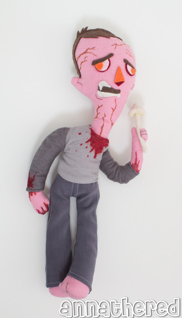 stuffed stuff: Runner from the Last of Us