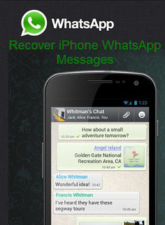 recover iPhone whatsapp messages