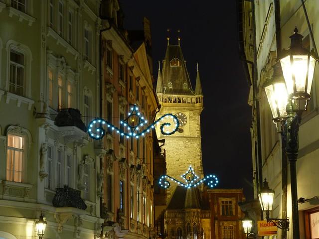 Fotografía de Praga en Navidad