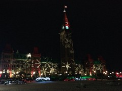 Walkabout: Parliament Hill Xmas lights