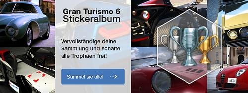 Gran Turismo 6 Stickeralbum