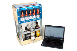 Barbot with Laptop