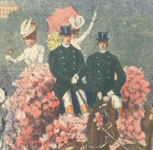 La Domenica del Corrieri, Nº 10, 11 Março 1900 - contra-capa a