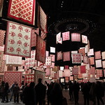 The quilt show at the Park Avenue Armory