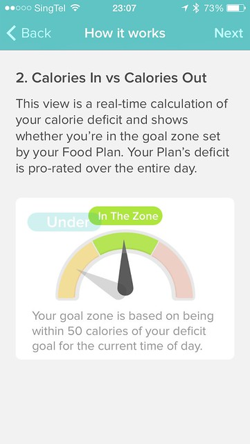 Fitbit iOS App - Food Plan Step 2