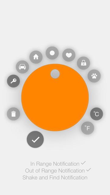 Chipolo iOS App - Settings