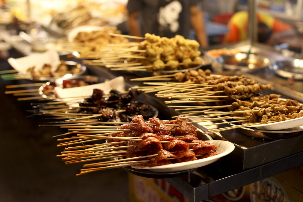 Street food display