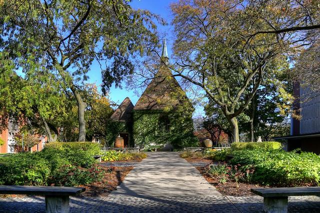 Saint Joan of Arc Chapel - west garden