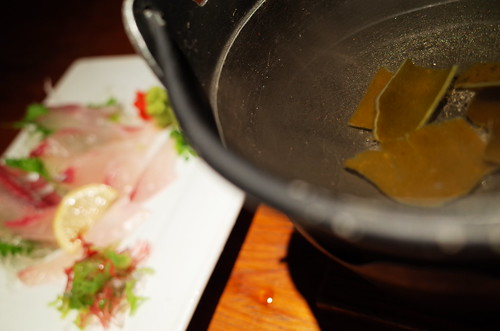 white trevally shabushabu