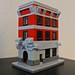 LEGO Mini Modular Ghostbusters Headquarters by pixel