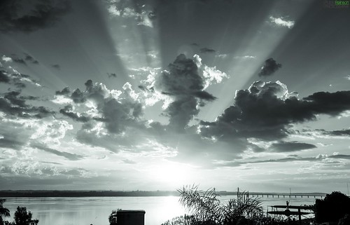 morning sunset sky plants sun white black water monochrome sunshine clouds digital sunrise canon silver reflections river eos reflex silhouettes 5d encarnacion pipa posadas markii canoneos5dmarkii 5dmkii pabloreinschphotography