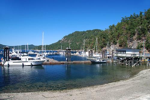 Poets Cove Resort & Marina, Pender Islands, Gulf Islands, Georgia Strait, British Columbia, Canada