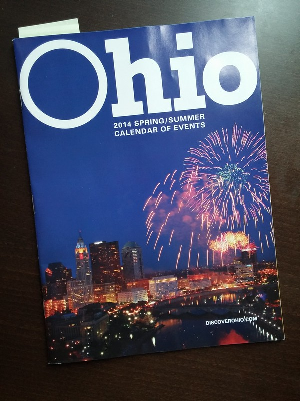 Ohio 2014 Spring/Summer Calendar of Events