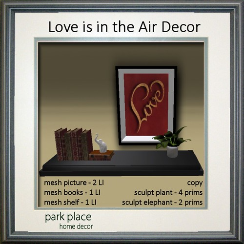 [Park Place] Love is in the Air Decor