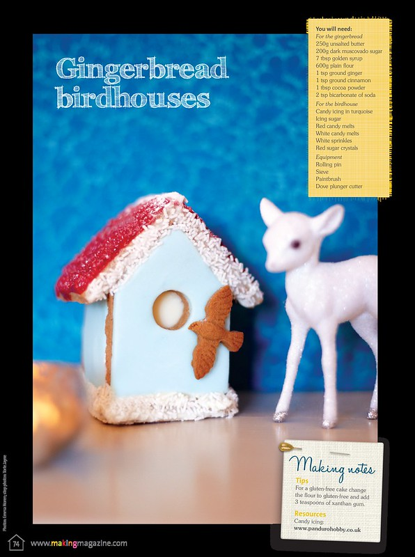 Gingerbread House  as seen in Making Magazine
