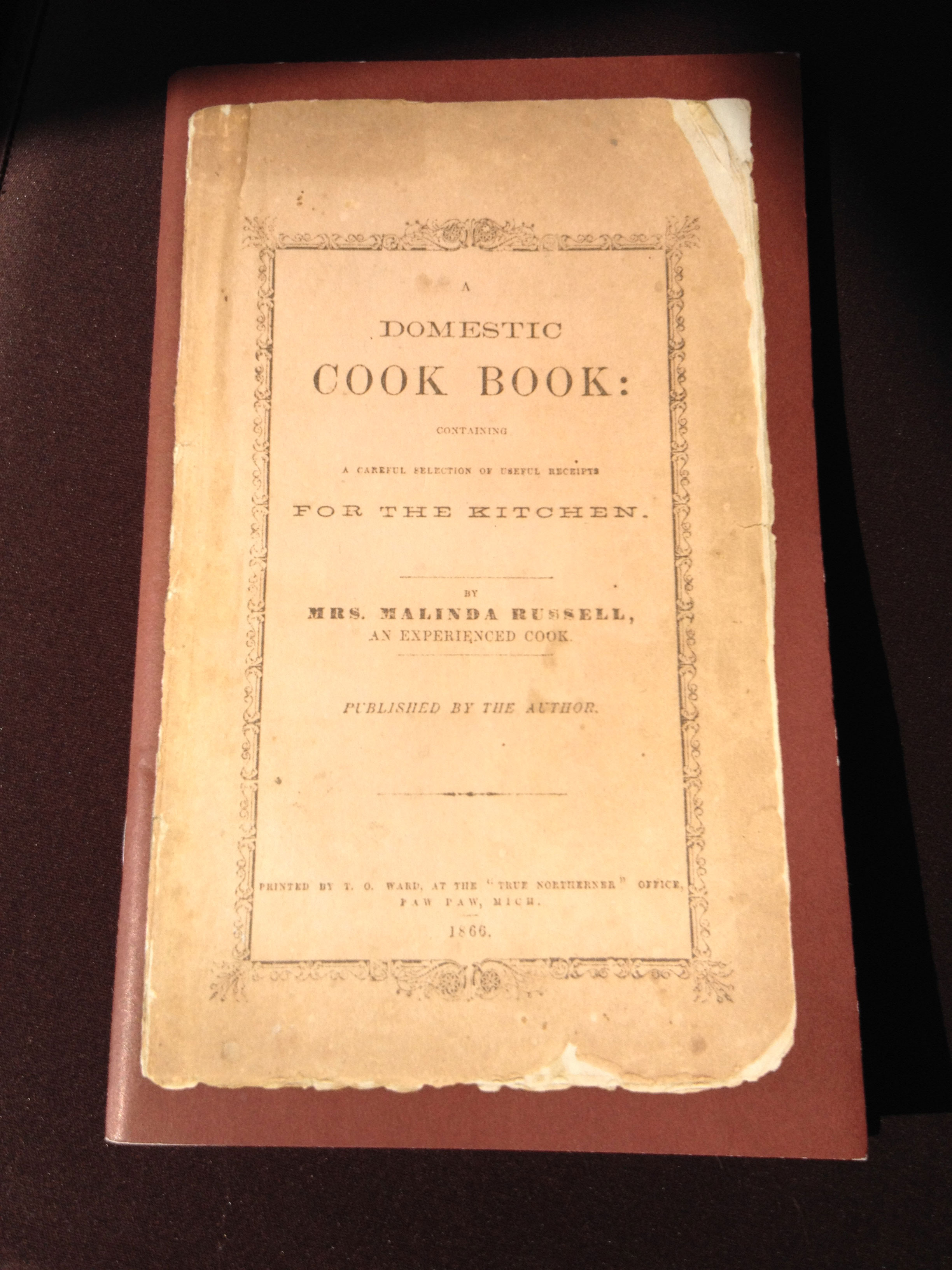 A Domestic Cook Book