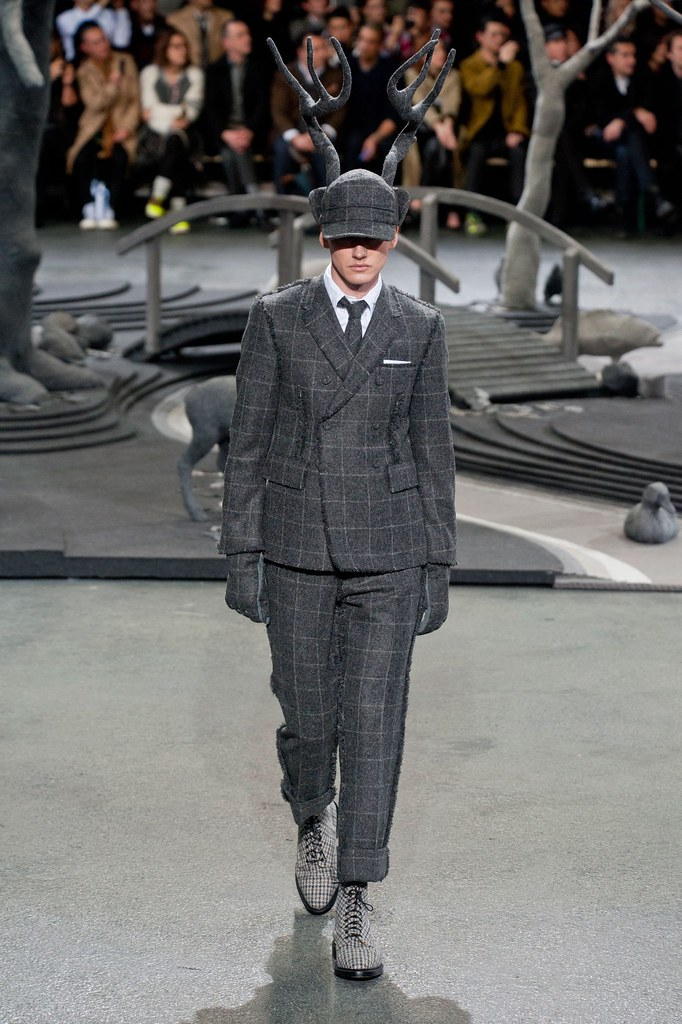 Jakob Hybholt4148_FW14 Paris Thom Browne(fashionising.com)