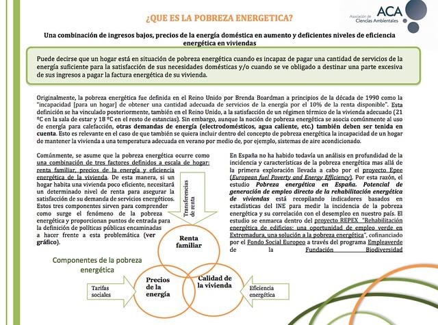 Fichas didacticas sobre pobreza energetica