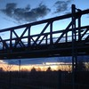 #bridge #sunset #clouds #cloudporn #igersgermany #sky #nofilter #railway #darmstadt