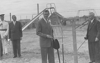 City of Port Adelaide 1856 - 1956 Centenary Celebrations - Official Opening  of the Le Messurier and John Bailey Playground, Saturday March 17 1956.
