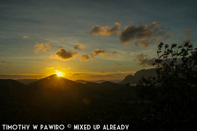 Asia - Philippines - Coron - Mount Tapyas - Sunrise time