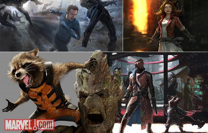 Artes conceituais da Marvel Studios
